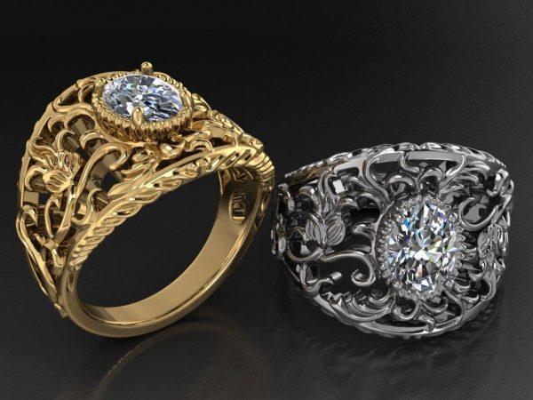 Antik Bayan Yüzüğü
